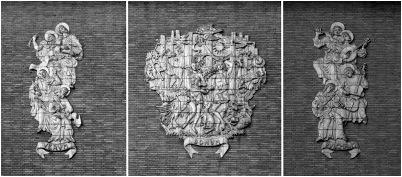 KRO 2 reliefs